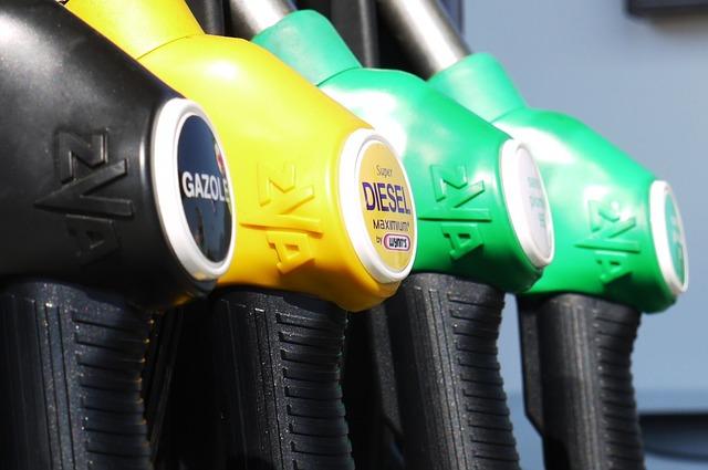 משאבת דלק של תחנת דלק